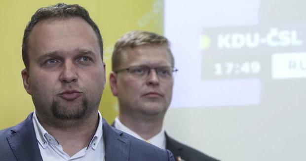 """Jurečka zvažuje, že vyzve Bělobrádka """"na souboj"""". Chtěl by do čela KDU-ČSL"""