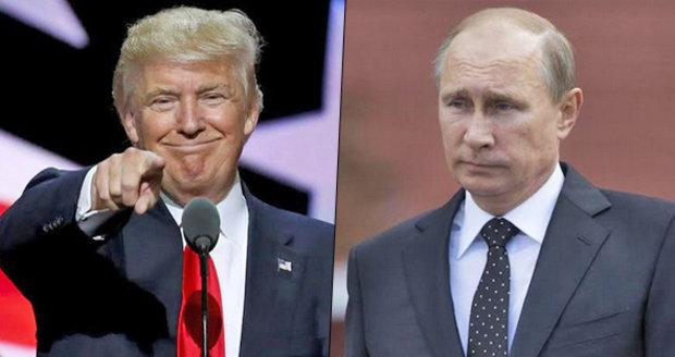 Za útoky během voleb stojí Moskva, otočil Trump a pochválil se za přízeň Putina.