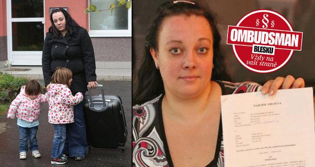 Vlasta Fatková (29) se jednou zpozdila s platbou za elektřinu v pronajatém bytě a hned dostala výpověď. Nesouhlasí s vyúčtováním ani s nedoplatkem.