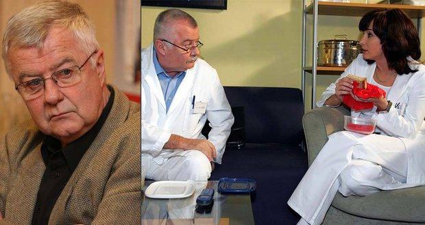 Oblíbený herec má za sebou operaci páteře.