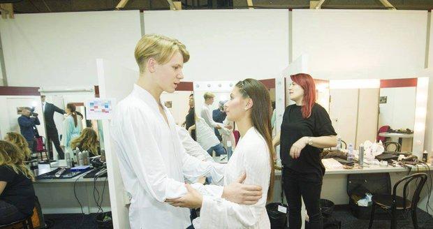 Zdeněk s Veronikou