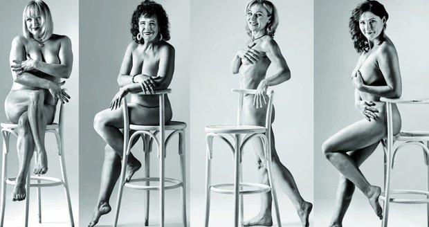 Nahá jsi krásná: Vyfotili jsme skutečné ženy nad padesát let!