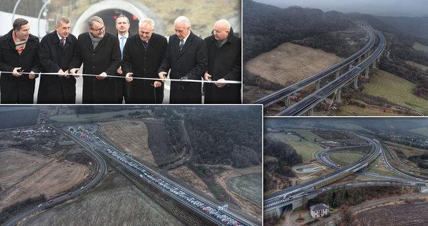 Ostudná premiéra D8. Sobotka připustil uzavření části dálnice, Ťok je v klidu