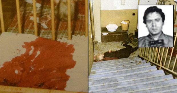 Vánoční vrah Vladimír Lulek ubodal manželku a 4 děti: Po jeho popravě si dal kat panáka rumu