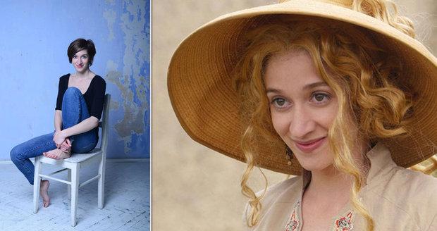 Zlatovláska z pohádky Slíbená princezna Marta Dancingerová: Akční scény natáčela těhotná!