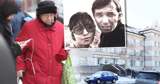 Matka Gottovy dcery Dominiky žije v domově důchodců.