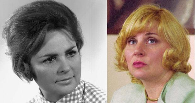 Naděžda Gajerová a její dcera Veronika Gajerová