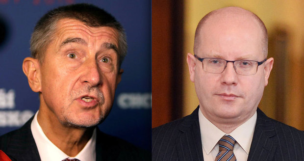 Andrej Babiš se zostra pustil do premiéra Sobotky kvůli lex Babiš.