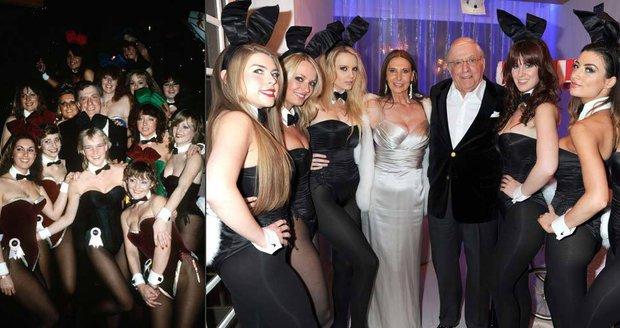 Zemřel šéf klubů Playboy klubů Victor Lownes.