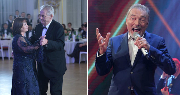 Na Zemanův ples se politici příliš nehrnou. Ale Babiš se Šlechtovou to jistí