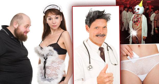 Dr. Karel Obdařený varuje před nástrahami, které vás mohou čekat na swingers party.
