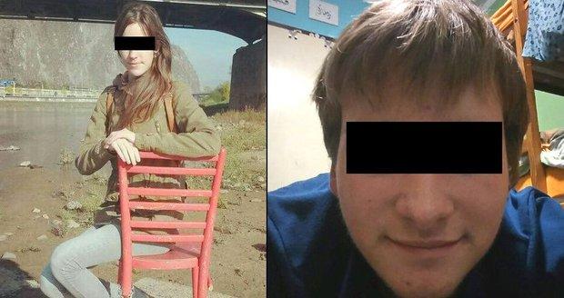 Tragická láska: Filip (†16) skočil pod vlak, když jeho přítelkyni Pavlínku (16) našli brutálně zbitou