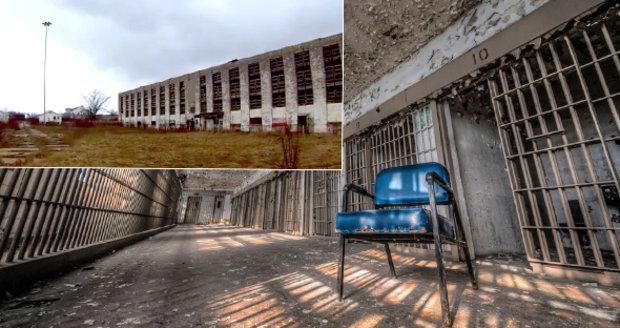 Opuštěná věznice v Detroitu (Michigan, USA)