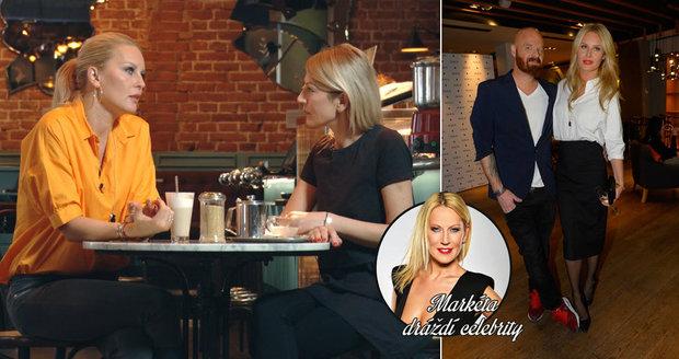 S manželem Karlem Vágnerem mladším má doma občas Itálii, přiznala Simona Krainová v pořadu Markéta dráždí celebrity.