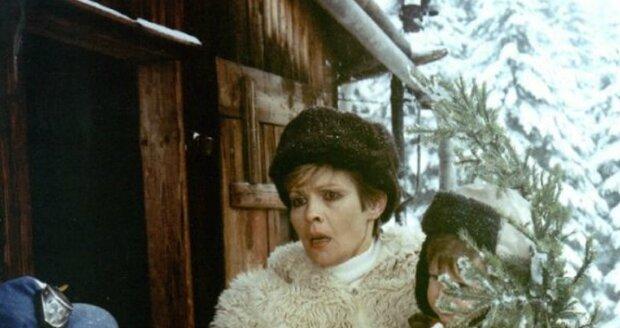 Jana Šulcová ve své nejslavnější roli ve filmu S tebou mě baví svět
