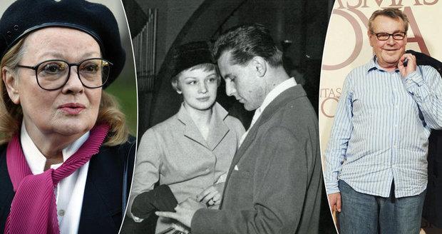 První žena oslavence Formana Jana Brejchová: Zahýbal mi s baletkou!