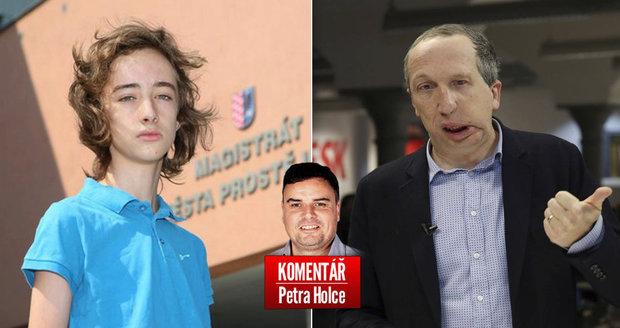 Petr Holec komentuje narážky Václava Klause mladšího na aktivistu Jakuba Čecha.