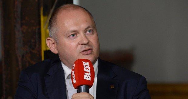 Bývalý jihomoravský hejtman Michal Hašek (ČSSD)