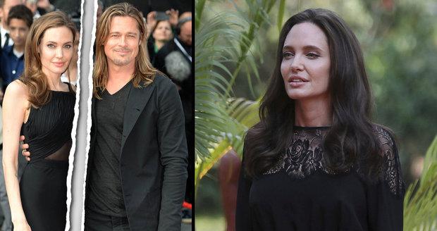 Angelina Jolie poprvé o rozvodu: Bylo to těžké, ale navždy jsme rodina.