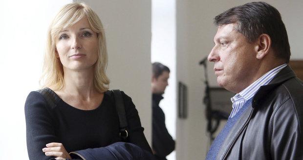 Manželé Jiří a Petra Paroubkovi
