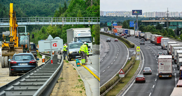 Silničáři letos opraví na 600 kilometrů dálnic a silnic, stavební práce začínají na dálnici D1 dnes. Opravy a 140 kilometrů staveb nových silnic zkomplikují dopravu.