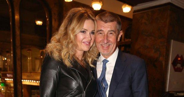 Monika Babišová s Andrejem Babišem