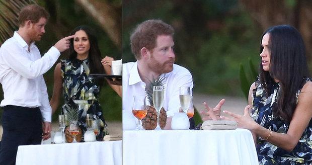 Princ Harry a Meghan Markle se účastnili svatby na Jamajce.