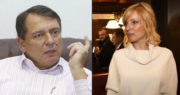 Petra Paroubková se bojí nejen o dceru, ale i o sebe.