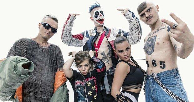 Ruská kontroverzní skupina Little Big vystoupí v Praze.