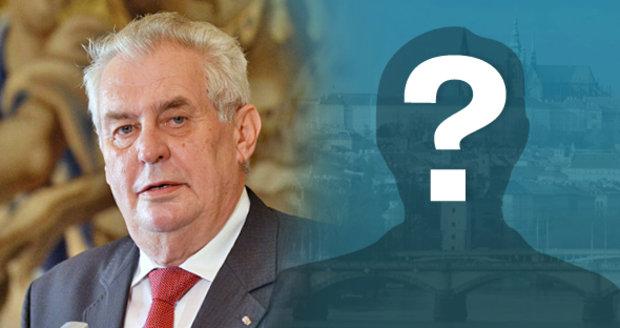 Prezident Zeman oznámil, že bude kandidovat znovu. Kdo je pro něj největší konkurent?