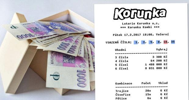 Čech dvakrát během měsíce vyhrál 1,5 milionu v Korunce! Nově ji lze hrát i z domova!