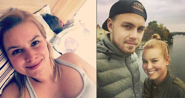 Solaříková ukázala postelové selfie.