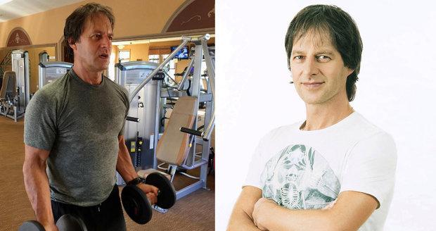 Pavol Habera pravidelně cvičí.
