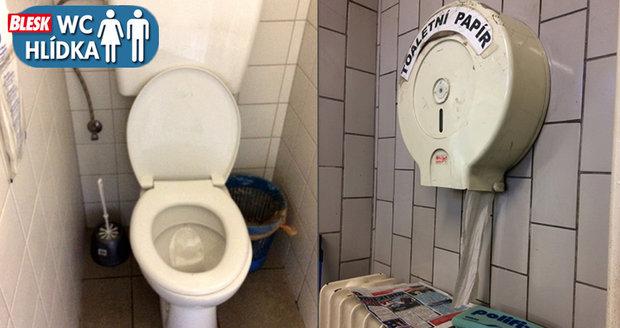 Na kačerovských toaletách se cítíte jako v minulém století.
