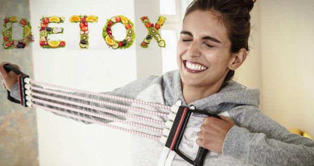 Nepřehánějte to s jarním detoxem! Může poškodit vaše vnitřní orgány.