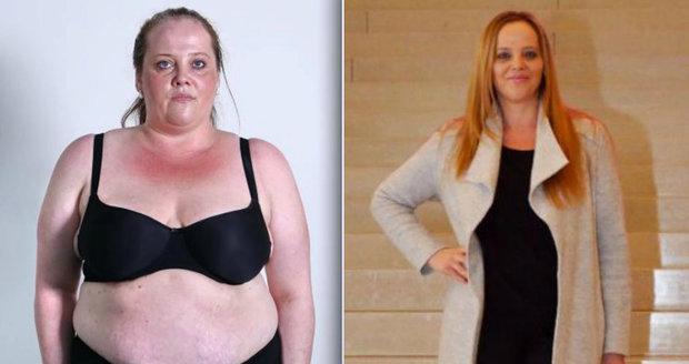 Marcela zhubla 52 kilo za osm měsíců.