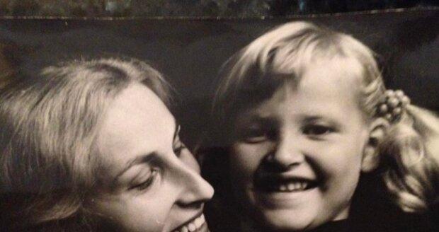 Tereza Maxová se svou maminkou