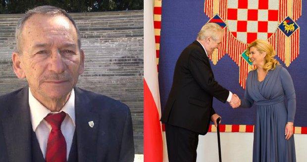 Kubera je se Zemanem v Chorvatsku: Trénuje na funkci prezidenta