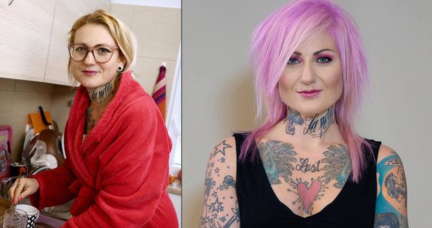 Proměna bývalé anorektičky Michaely v pořadu jste to, co jíte.