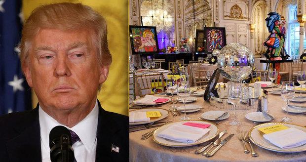 V luxusní rezidenci amerického prezidenta Donalda Trumpa Mar-a-Lago na Floridě našli závadné a nebezpečné jídlo.
