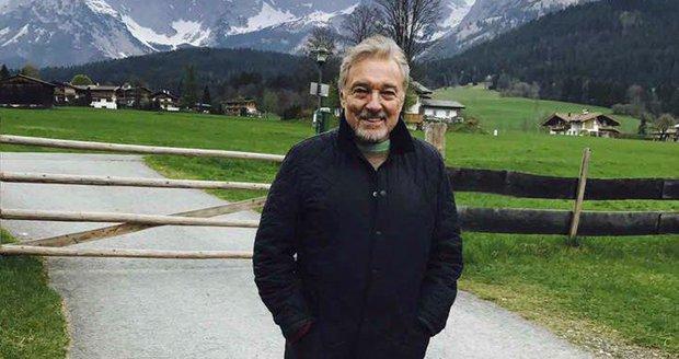 Karel Gott si užíval v Rakousku.
