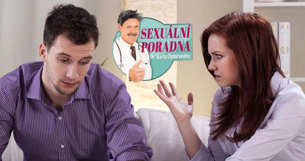 Dr. Karel Obdařený řeší trable muže, kterého trápí, že svým penisem plně nevyplňuje snoubenku.