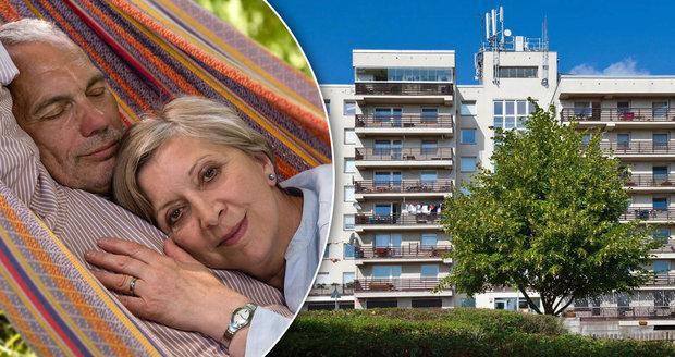 Zájem seniorů a padesátníků o nové byty roste.