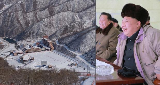 Lyžařské středisko Masikrjong v Severní Koreji