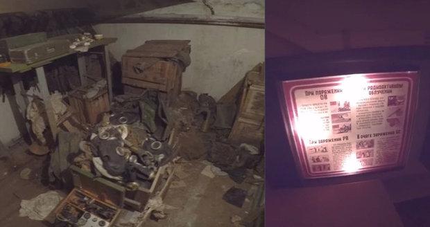 Opuštěný sovětský bunkr v Rusku