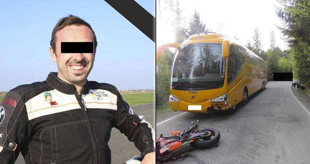 Instruktor bezpečné jízdy Lukáš (†33) zemřel na motorce: Kvůli rumunskému kamionu bez papírů!