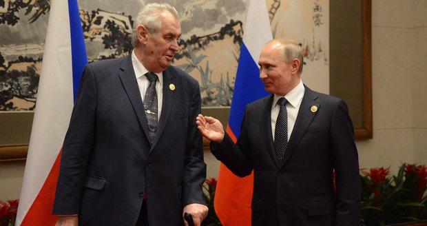 """Zeman v Číně: """"Novináři se musí likvidovat."""" Stačí redukovat, opáčil Putin"""