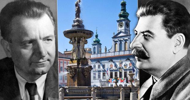 České Budějovice odebraly čestné občanství Klementu Gottwaldovi a Josifu Stalinovi.
