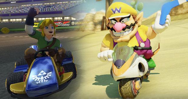 Mario Kart 8 Deluxe jsou zábavné závody motokár, které chytnou a nepustí.