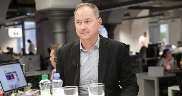 Petr Gazdík, předseda hnutí STAN a místopředseda Poslanecké sněmovny ve Studiu Blesk